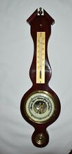 New listing Vintage Thermometer & Barometer Weather Station - Made in Germany