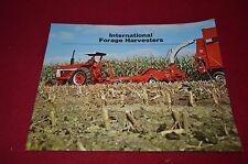 International Harvester No. 650 555 Forage Harvester Dealer's Brochure Tein