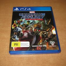 PS4 Game - MARVEL GUARDIANS OF THE GALAXY - THE TELLTALE SERIES ( LIKE NEW )