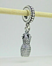 Pandora 792062CZ Sterling Silver Dress Clear CZ Dangle Charm
