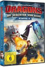 Dragons - Die Wächter von Berk - Staffel 2 (Vol. 1 & 2 & 3 & 4) - DVD - *NEU*