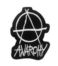 Anarchy Iron On Patch Punk biker rocker heavy metal music chaos The Sex Pistols
