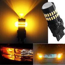 3157 4157 LED Turn Signal Brake Tail Parking Backup Light 48SMD Amber 3757 4057
