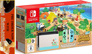 ANIMAL CROSSING NEW HORIZONS Limited collectors edition NINTENDO SWITCH CONSOLE