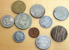 Colombia 10 Different Coins Set