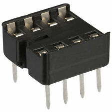 10p - 8 pin DIP IC Sockets Adaptor Solder Type Socket - USA SELLER Free Shipping
