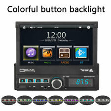 7 inch 1 DIN Car Stereo Player Head Unit MP3 FM Bluetooth In-Car Entertainment