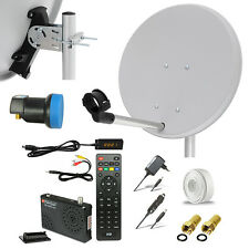 HDTV HD HDMI camping sat apéndice digital receiver LNB USB Mobile 12v 230v opticum