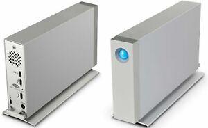 LaCie d2 Thunderbolt 3 8TB External Hard Drive - Silver (STFY8000400)