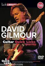 Fare clic su Libreria imparare a giocare rapidamente anche gli integrativi Dave David Gilmour Blues Guitar DVD, scheda