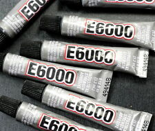 E-6000 Industrial Strength Adhesive, Jewelry Glue, 1 Tube, (0.18 Mini Tube)