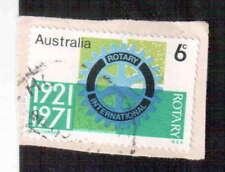 POSTAGE STAMP : AUSTRALIA : ROTARY INTERNATIONAL 1921 - 1971 - 6c