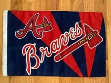 "Atlanta Braves Baseball Flag MLB 18"" x 12"""