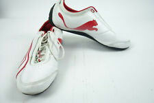 PUMA Drift Cat 4 SF White Red Unisex Racing Shoes 30402803 Ferrari Sz 12 EUR 46