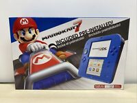 Nintendo 2DS Electric Blue 2 Limited Edition with Mario Kart 7 pre-installed A