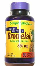 Bromelain 850mg Ultra Strength 90 Capsules Pineapple Enzyme Digestive Aid Pill