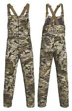 $190 UNDER ARMOUR GRIT BIB HUNTING PANTS 1316872-999 BARREN CAMO L