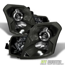 Black 2003-2007 Cadillac CTS Projector Headlights Replacement 03-07 Left+Right