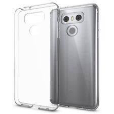 LG G6 Hülle Handyhülle von NALIA, Slim Silikon Cover Schutzhülle - Transparent