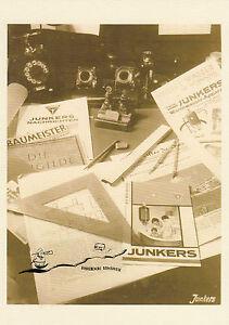 Karte: Friedrich Peter Drömmer,   Junkers - Stillleben, 1928 - Nachdruck!