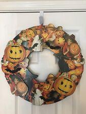 Bethany Lowe Halloween Die Cut Wreath—Retired