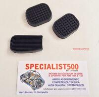 FIAT  500 F-L-R -126  KIT 3 GOMMINI COPRIPEDALI COMPLETO