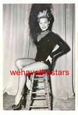 Vintage Gale Robbins SEXY LEGS 48 GINGER ROGERS STAND-IN Press Pub Portrait