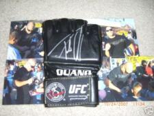 UFC TITO ORTIZ OUANO SIGNED AUTOGRAPHED GLOVE MMA NHB