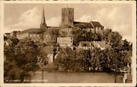 Mönchengladbach M.-Gladbach AK 1935 gelaufen Blick vom Geroplatz auf das Münster