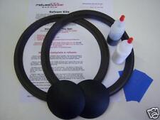 "JBL 2122H 4344 4345 10"" Woofer Refoam Kit - Speaker Repair - FREE SHIPPING!"