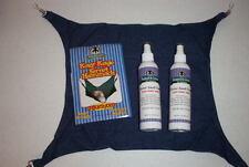 2 Bottles Ferret Smell Good Spray & Cage Hammock