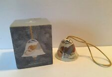 Lovely Lladro Angelic Melody Angel Bell Ornament In Box