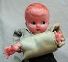 "Antique ~ Rare Ring Bearer Doll ~ Hard Plastic ~ 6"" High"