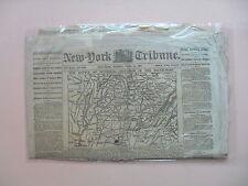 NEW YORK DAILY TRIBUNE - The Battle of Pittsburgh,TN (Shiloh) - April 14,1862