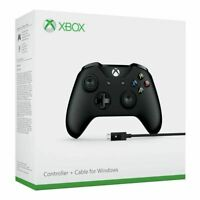 Microsoft Xbox One Wireless Controller + Cable for Windows PC New | Sealed