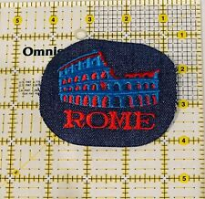 Rome  Patch Iron On New Embroidered Europe Italy
