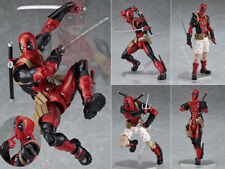 Anime Figure Jouets Deadpool Figma Action Figurine 16cm