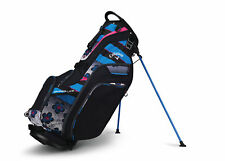 2018 Callaway Womens Golf Hyper-Lite 5 Stand Bag Black/Blue/Pink