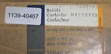 TELERUTTORE Siemens CONTACTOR 3tb4617-oam0 220v 50hz/264v 60hz 2s + 2ö 2no+2nc 2nf