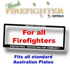 Number Plate Frame For Our Firefighters
