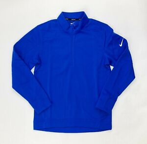 Nike Therma Repel Half-Zip Golf Pullover Jacket Men's S M XL 3XL Blue AR2600