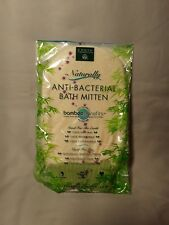 EARTH THERAPEUTICS Naturally Anti-Bacterial Bath Mitten (3 Pack)