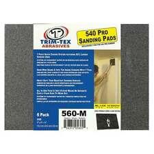 Trim-Tex Black Widow 560 Drywall Sanding Pads Medium 150 Grit 6/Pack