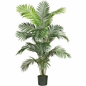 Paradise Palm Silk Plant Realistic Artificial Nearly Natural 6' Garden Decor