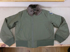 Us44 usaaf AIR FORCE AVIATEUR veste b-15/b15 vintage 40's FLIGHT JACKET w/logo