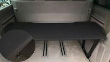53cm Uni Schwarz 2 VW T5 /& T6 Multivan Multiflexboard Bettverlängerung Ablage H