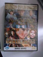 Nanny McPhee/Peter Pan (DVD, 2007, 2-Disc Set) SEALED