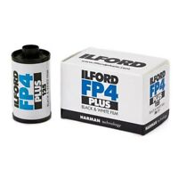 Ilford FP4 Plus 125 asa Black & White 35mm Film 36 exposures (UK Stock) BNIB