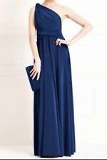 Navy Blue Infinity/ Multiway/ Convertible Long Dress/ Gown with FREE Bandeau!!