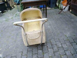 alter KINDERWAGEN antik Korbkinderwagen 30er 40er Jahre